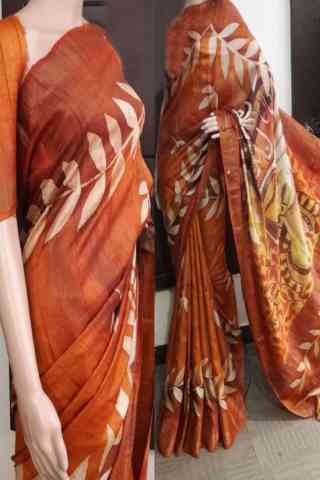 Pleasurable Soft Silk Saree - SB730  30""