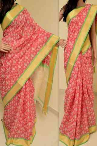 Blooming Multi Color Soft Silk Saree - SB755  30""