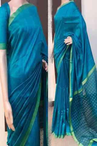"""Exquisite Multi Color Soft Silk Saree - SB759  30"""""""