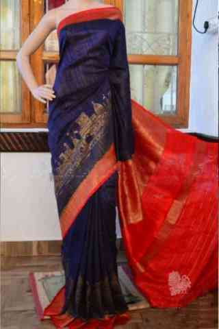 Charming Blue Color Soft Silk Designer Sarees - SB892  30""