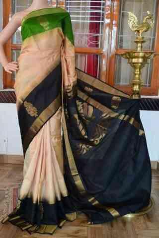 Charming Multi Color Soft Silk Designer Sarees - SB897