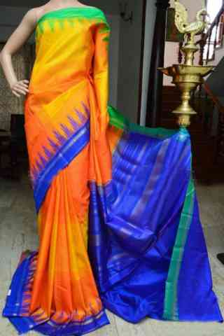 Graceful Multi Color Soft Silk Designer Sarees - SB913