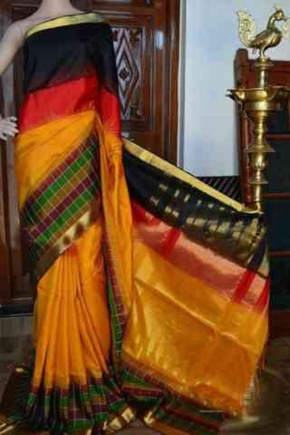 """Engrossing Multi Color Soft Silk Designer Sarees - SB950  30"""""""