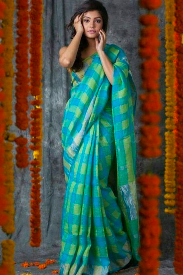 Exceptional Blue Wedding Wear Soft Silk Saree With Blouse