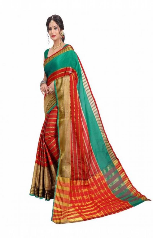 Dynammic Multi Color Soft Silk Designer Sarees-SB648