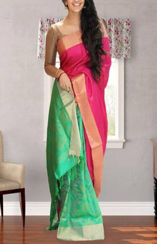 Modern  Multi Color Soft Silk Designer Sarees - SB656
