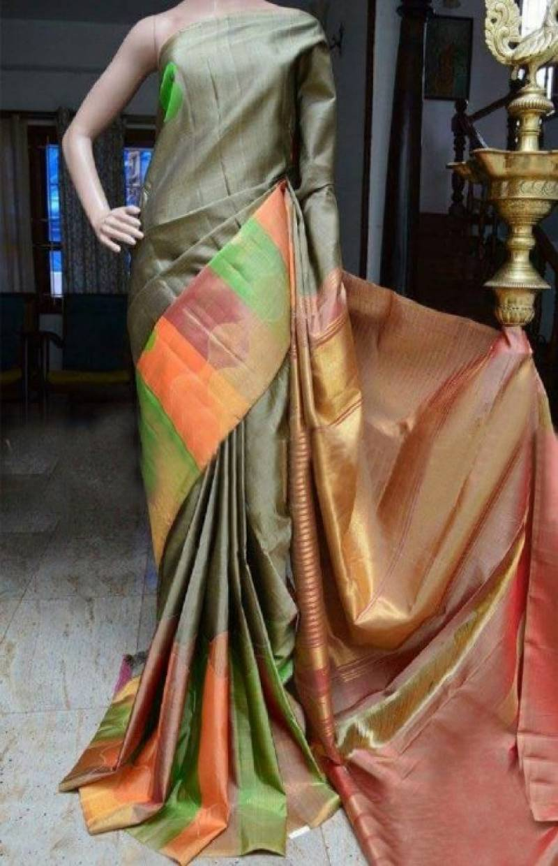 Royal Multi Color Soft Silk Designer Sarees - SB884