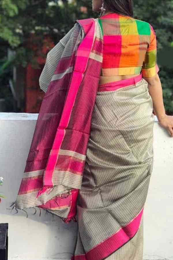 Exquisite Multi Coloured Soft Silk Printed Designer Saree-SD367  30""