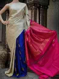 "Multi Colored Soft Silk Printed Designer sarees SD586  30"""