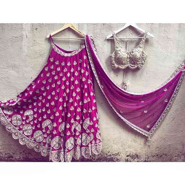Rani Embroidered Attractive Party Wear Lehenga LC--211  30""