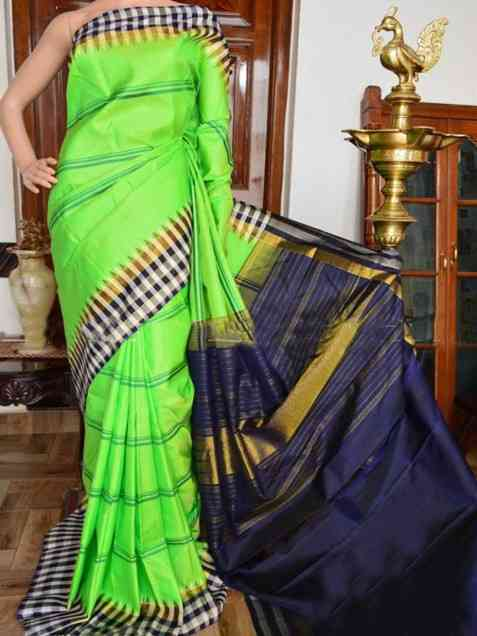 Pairot Color Soft Silk Designer Sarees - sd916  30""